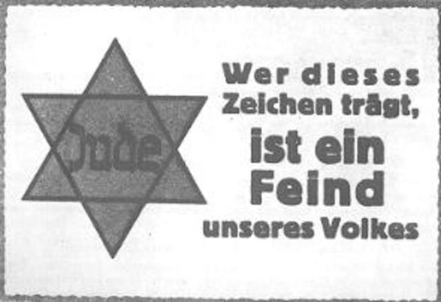 Entrechtung der Juden