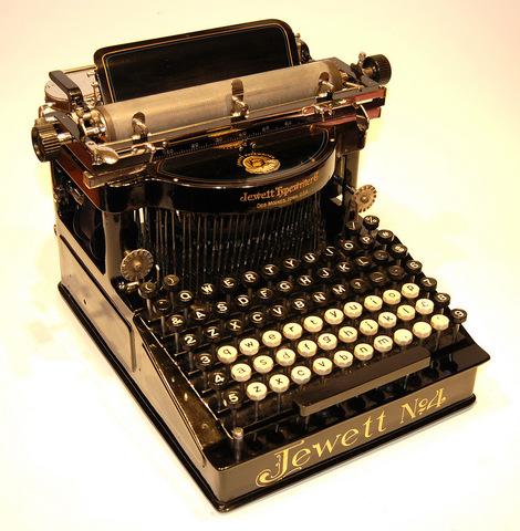 Изобретение машинописи