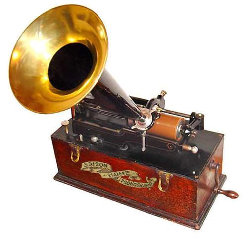 Изобретение фонографа Томас Эддисон