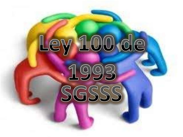 La Ley 100 de 1993