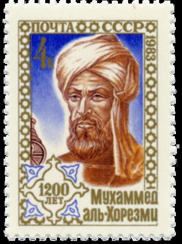 El matemático árabe Al Juarismi desarrolla el álgebra.