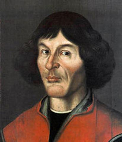 Nicolás Copérnico propone el modelo heliocéntrico.