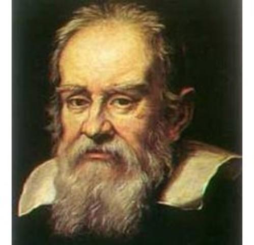 Galileo Galilei realiza el experimento del plano inclinado, refutando la teoría Aristotélica del movimiento.