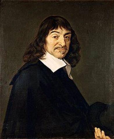 René Descartes publica los 3 ensayos del Discurso del método (ver también: Roger Bacon).