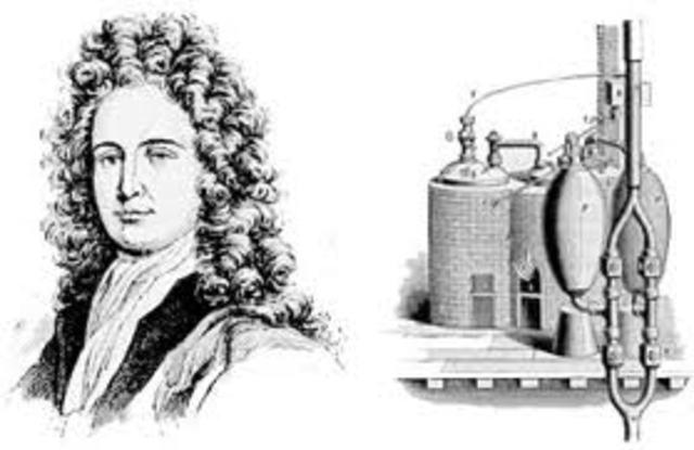 Denis Papin: cilindro pistón a vapor