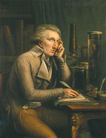 Georges Cuvier establece la extinción como un hecho.