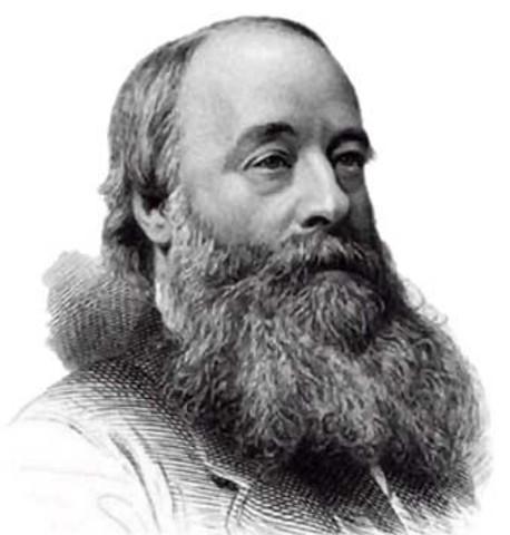 James Prescott Joule mide la equivalencia entre el trabajo mecánico y el calor, resultando en la formulación de la ley de conservación de la energía.