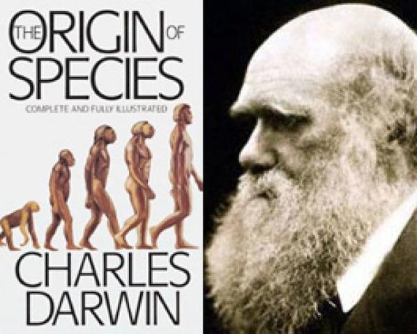 Charles Darwin publica El origen de las especies donde presenta su teoría de la evolución biológica por selección natural.