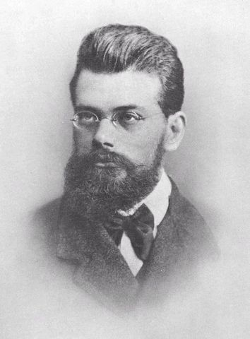 Ludwig Boltzmann define estadísticamente la entropía.