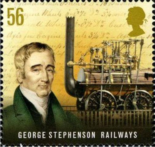 GEORGE STEPHENSON AND THE STEAM LOCOMOTIVE