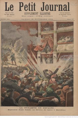 Bombas en Barcelona 1893