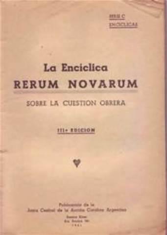 Rerum Novarum 1890