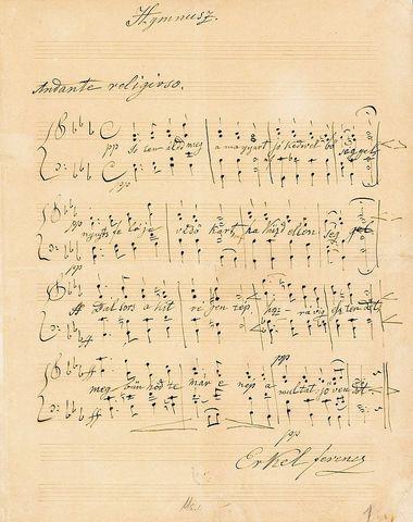 Himnusz megzenésítése
