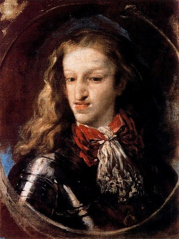 Comienzo del reinado de Carlos II