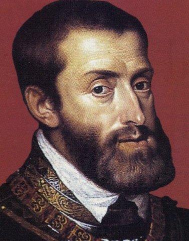 Carlos I es nombrado como Carlos V emperador del sacro imperio Romano Germánico