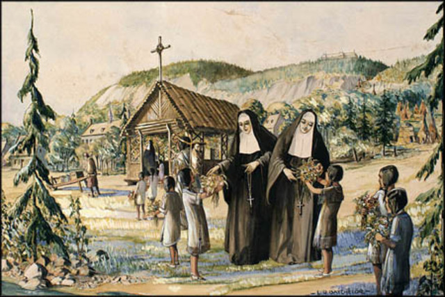 The Catholic Church in New France