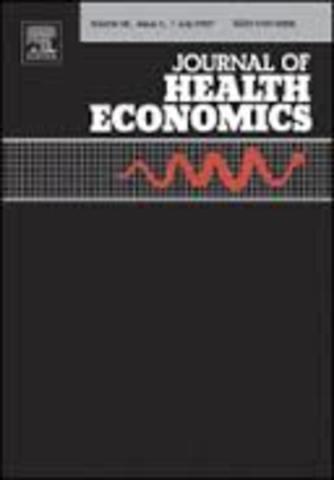 JOURNAL OF HEALTH ECONOMICS Y EL HEALTH ECONOMICS