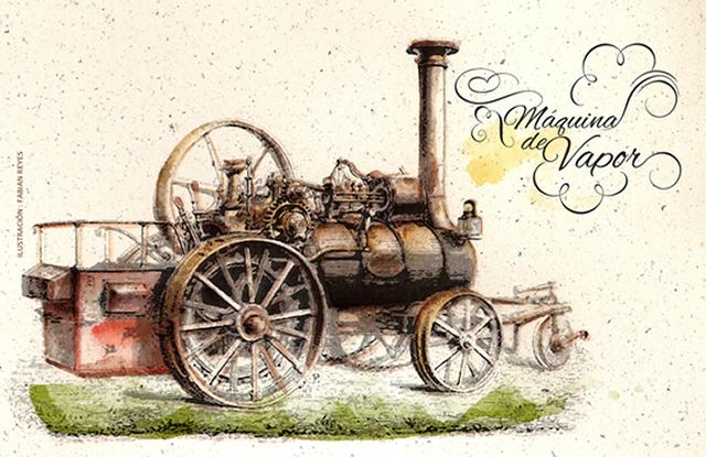 Creació 1ra màquina de vapor (James Watt)