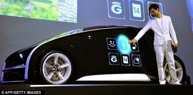 Carro smartphone
