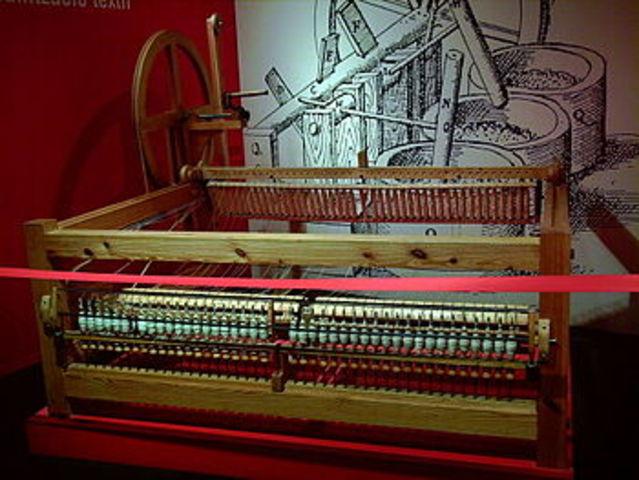 maquina filadora de cotó