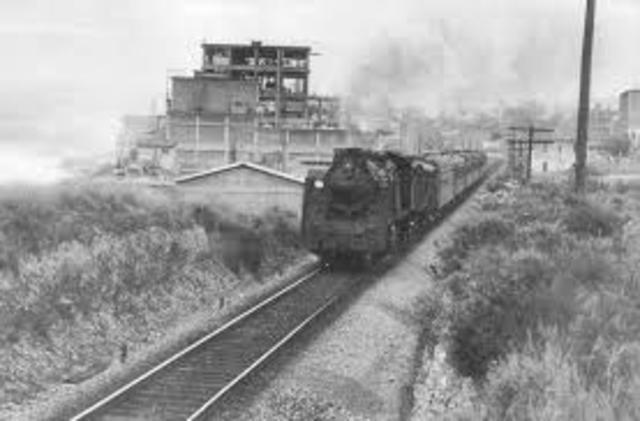 Primera línia de ferrocarril de passatgers