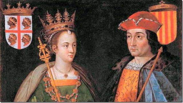 Matrimonio de Fernando II de Aragón con Isabel I de Castilla (1469)