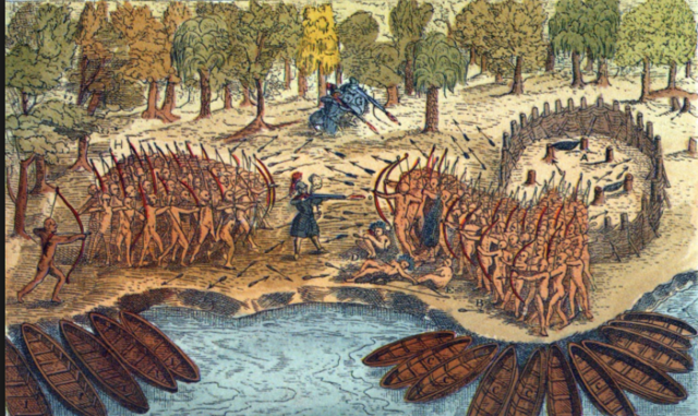 Power and relations between the French and Amerindians