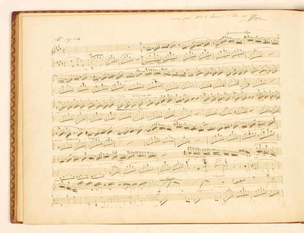 Концерт в Парижской консерватории.