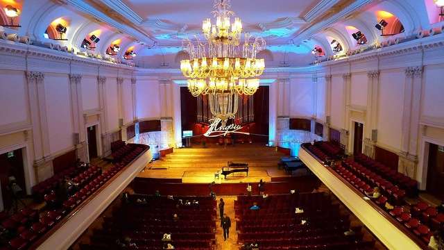 Международный конкурс пианистов в Варшаве.
