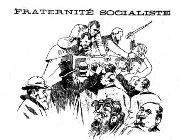 Primers socialistes francesos que intervingueren en la revolució
