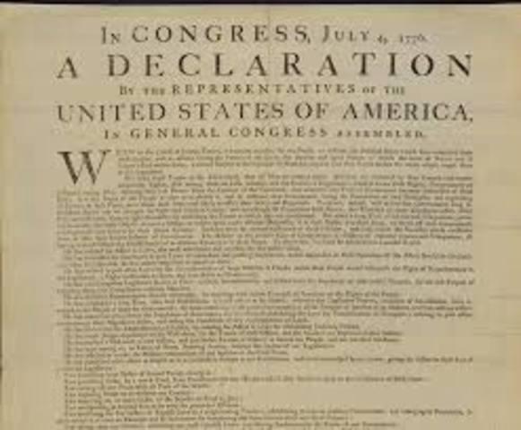 Declaración de los Derechos de Virginia y Declaración de Independencia de los Estados Unidos