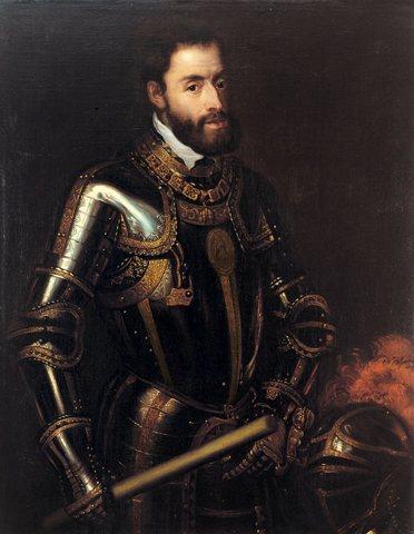 Carlos V es coronado emperador de Alemania.