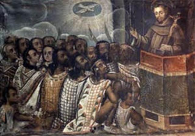 LLEGAN A LA NUEVA ESPAÑA LOS DOMINICOS