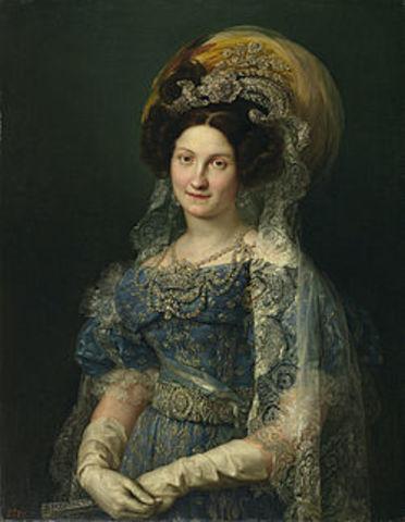 Regencia de María Cristina.