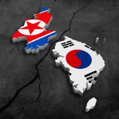 Korea- North invades