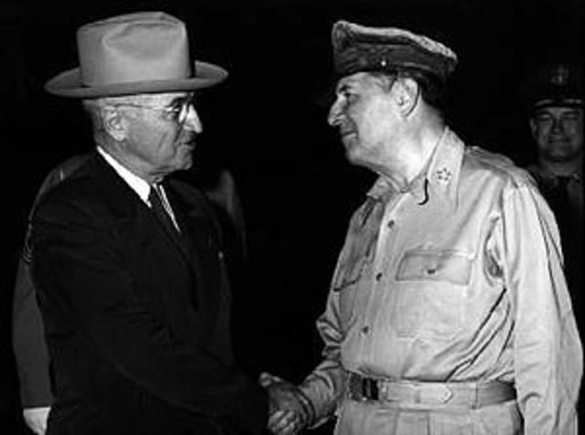 Korea- Truman releases MacArthur of command