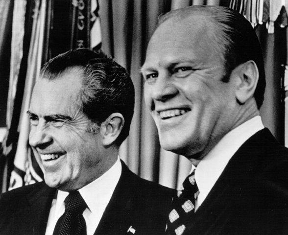 Vietnam- Nixon resigns