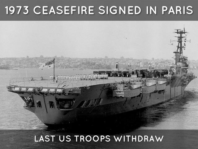 Vietnam- Cease-fire declared in Vietnam