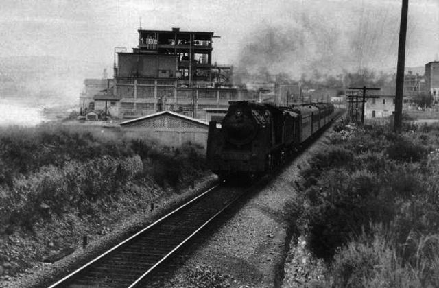 Primera línea ferroviaria