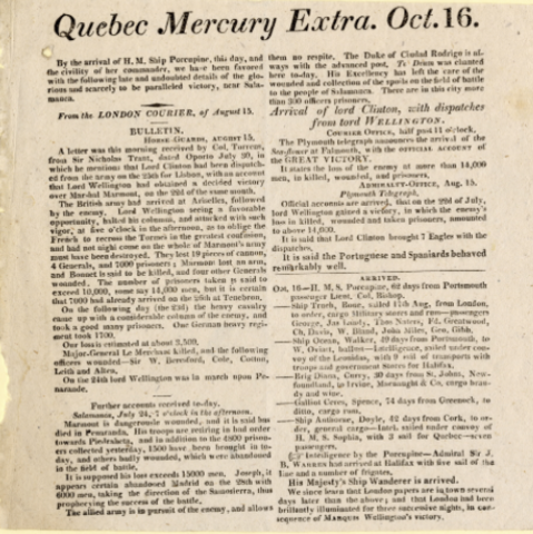 First elections in Lower Canada