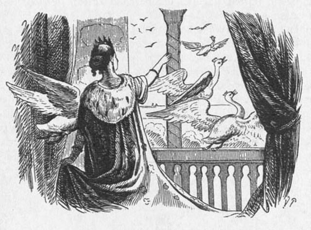 """De vilde svaner"" af H. C. Andersen"
