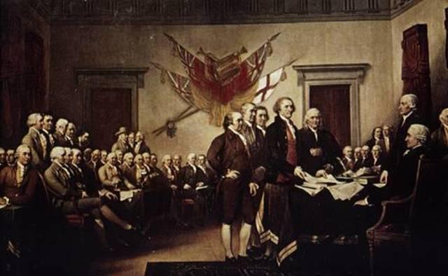 Declaración de Independencia de las trece colonias (EE.UU.)