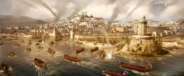 Conquest of Alexandria and fall of Egypt