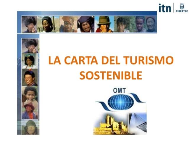 Carta Mundial del Turismo Sostenible