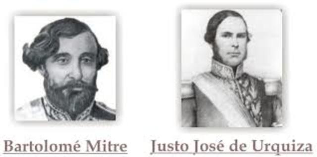 Urquiza y Mitre