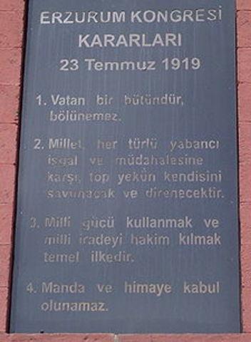 Congress of Erzurum