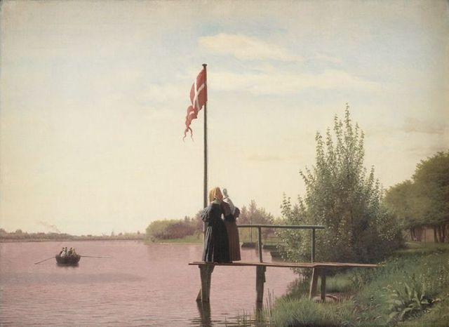 """""""Danmarks Trøst"""" af N.F.S. Grundtvig"""