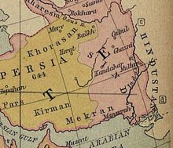Muslim invade Khorasan