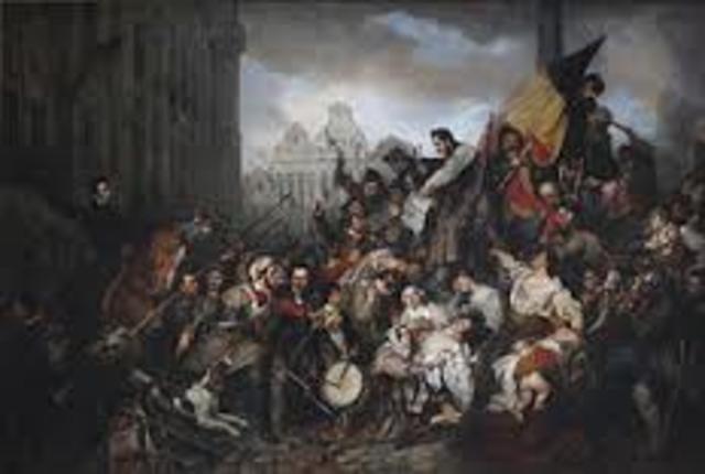 Revolución en Bélgica