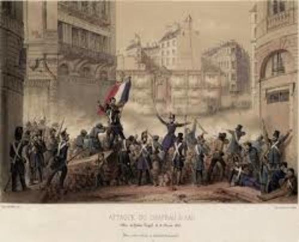 Revolución Francia 1848